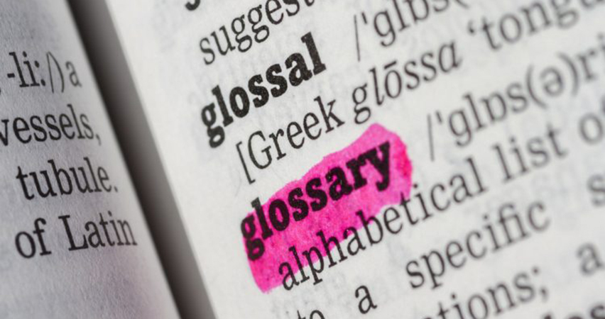 glossary of personal injury terms