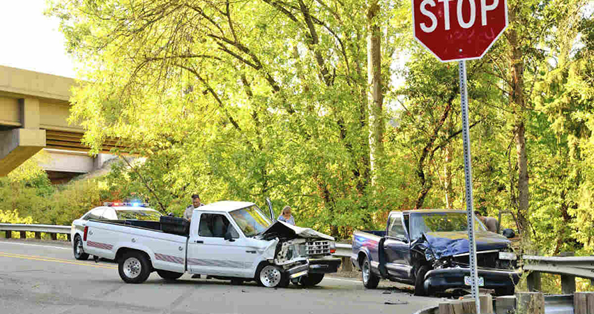 stop sign intersection accidents