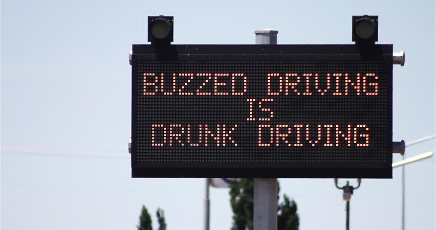 danger of buzzed driving