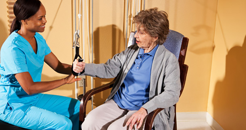 occupational therapy following an accident