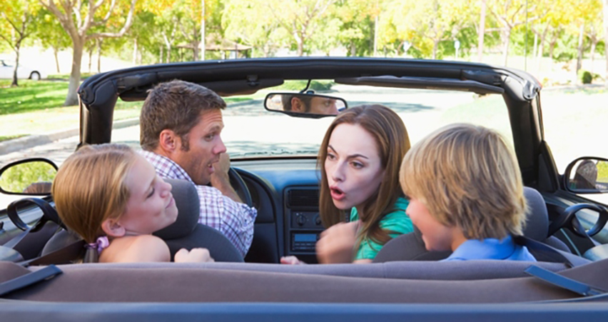 kids are more distracting than cell phones while driving