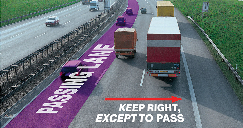 slow left lane drivers
